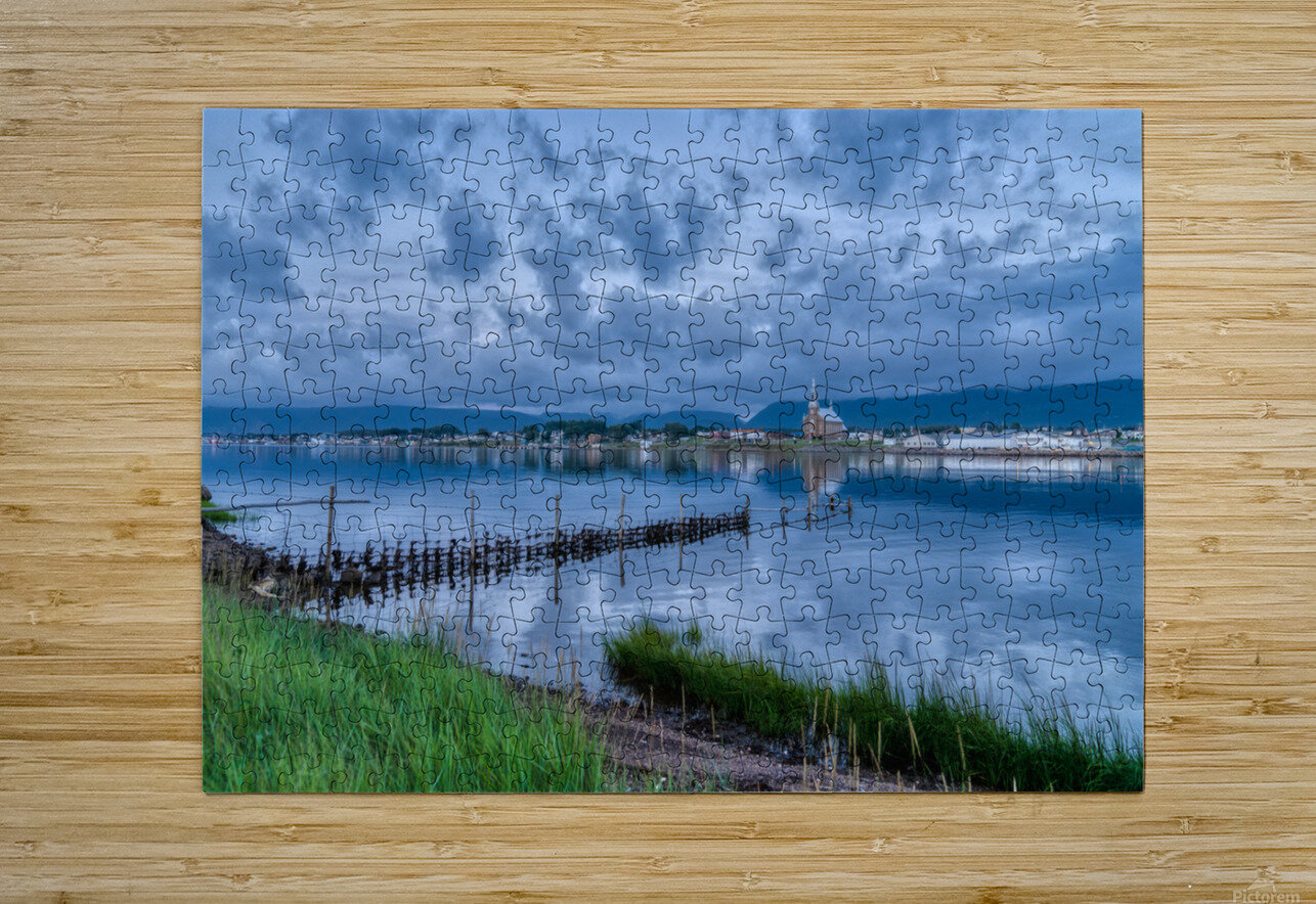 Cheticamp Harbour  HD Metal print with Floating Frame on Back