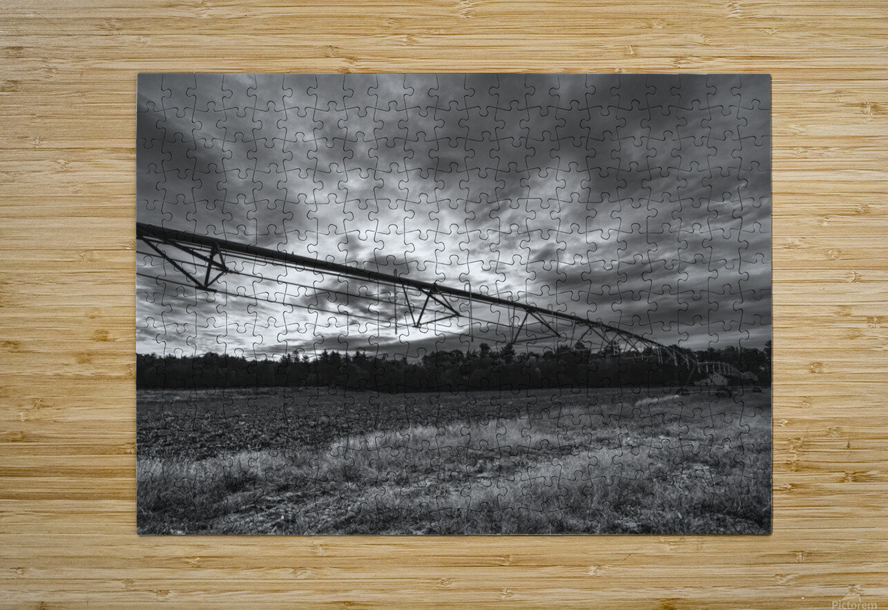 After The Harvest  HD Metal print with Floating Frame on Back