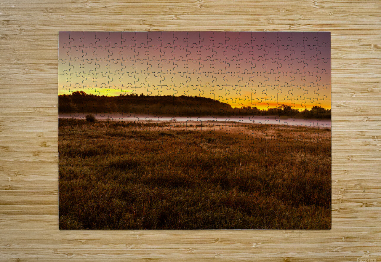 Simply September  HD Metal print with Floating Frame on Back