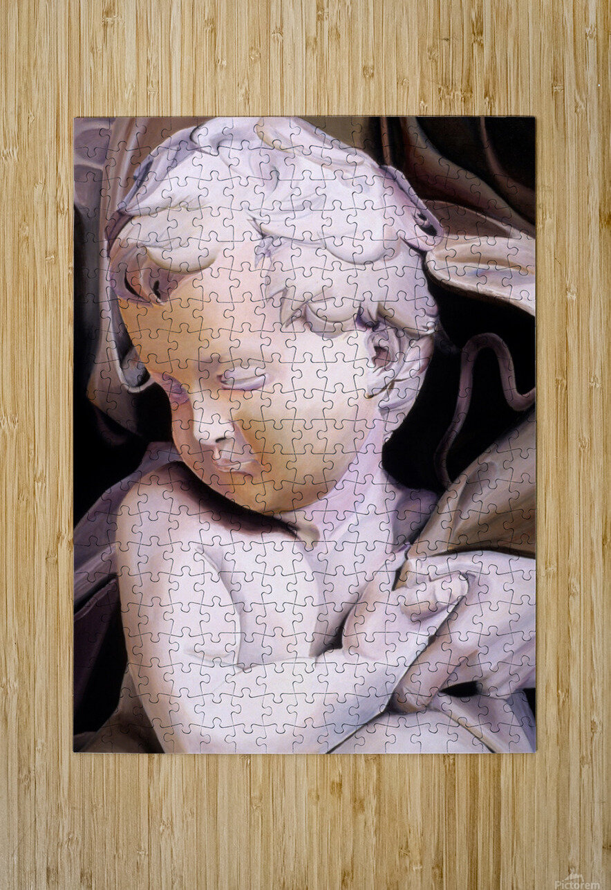 THE CHILD  HD Metal print with Floating Frame on Back