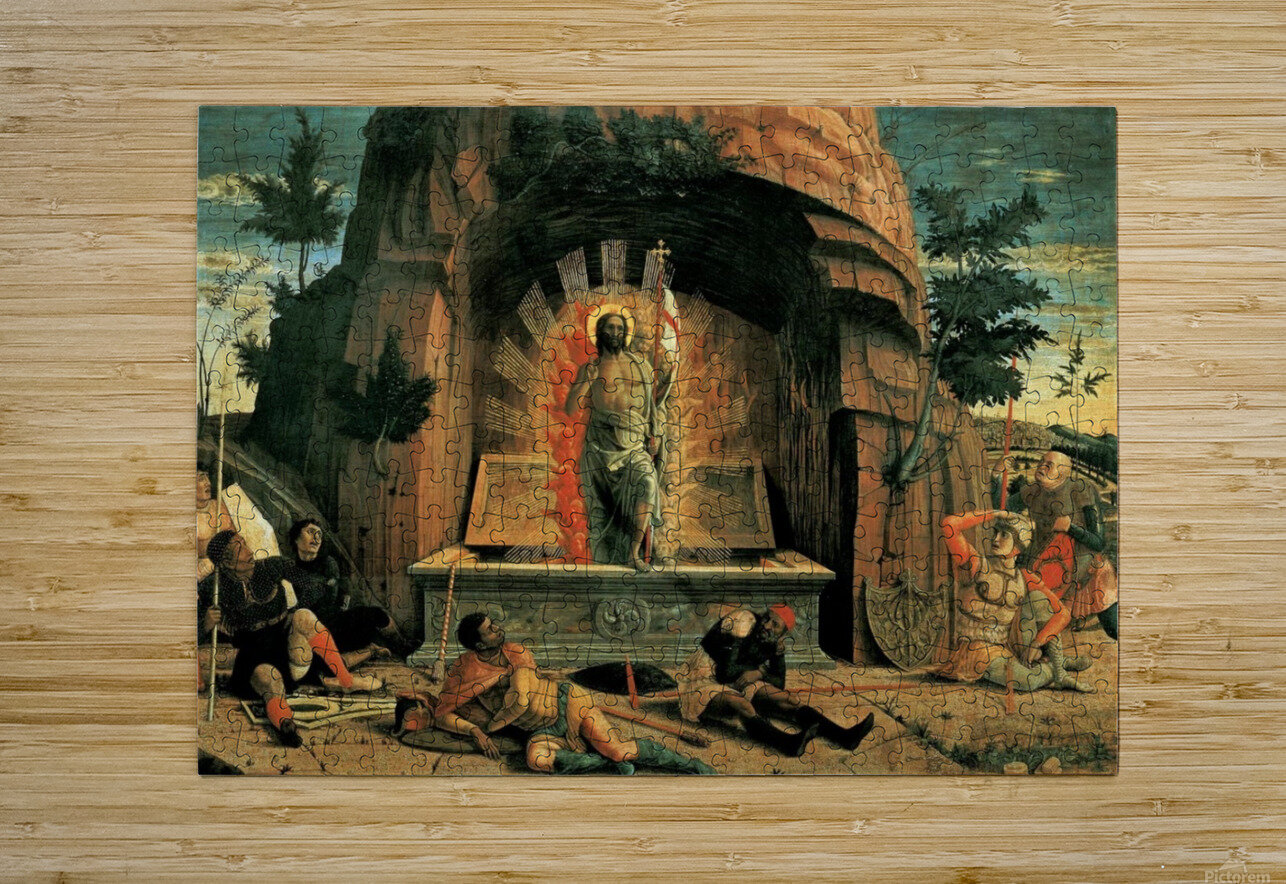 The Resurrection  HD Metal print with Floating Frame on Back
