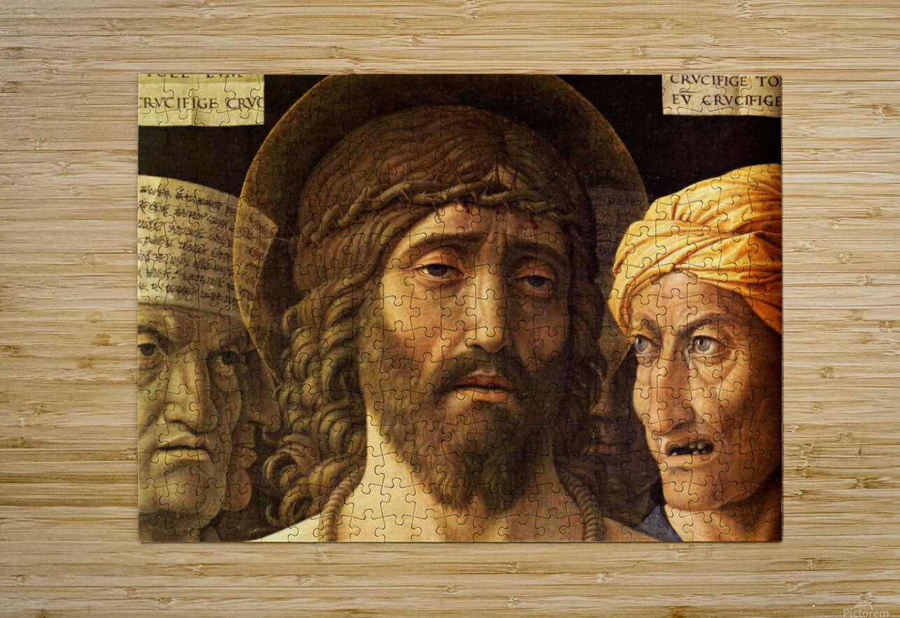 Ecce Homo detail  HD Metal print with Floating Frame on Back