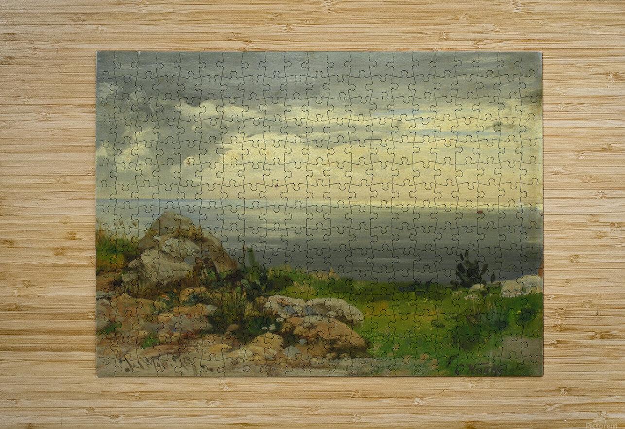 Landscape in Taormina, Sicily  HD Metal print with Floating Frame on Back