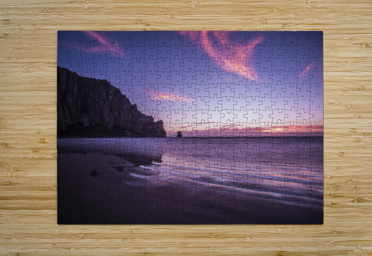 MorroBay  HD Metal print with Floating Frame on Back