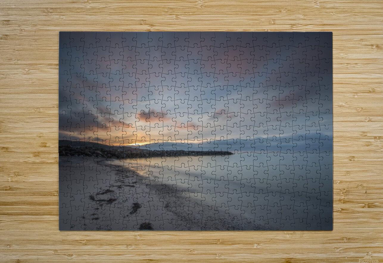 Belle Sunset  HD Metal print with Floating Frame on Back