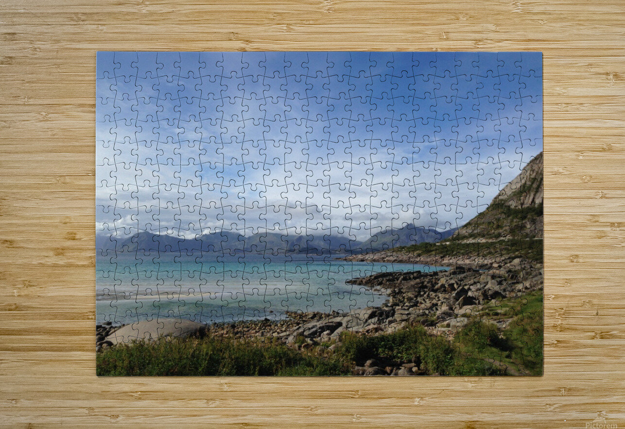 Cold Summer  HD Metal print with Floating Frame on Back