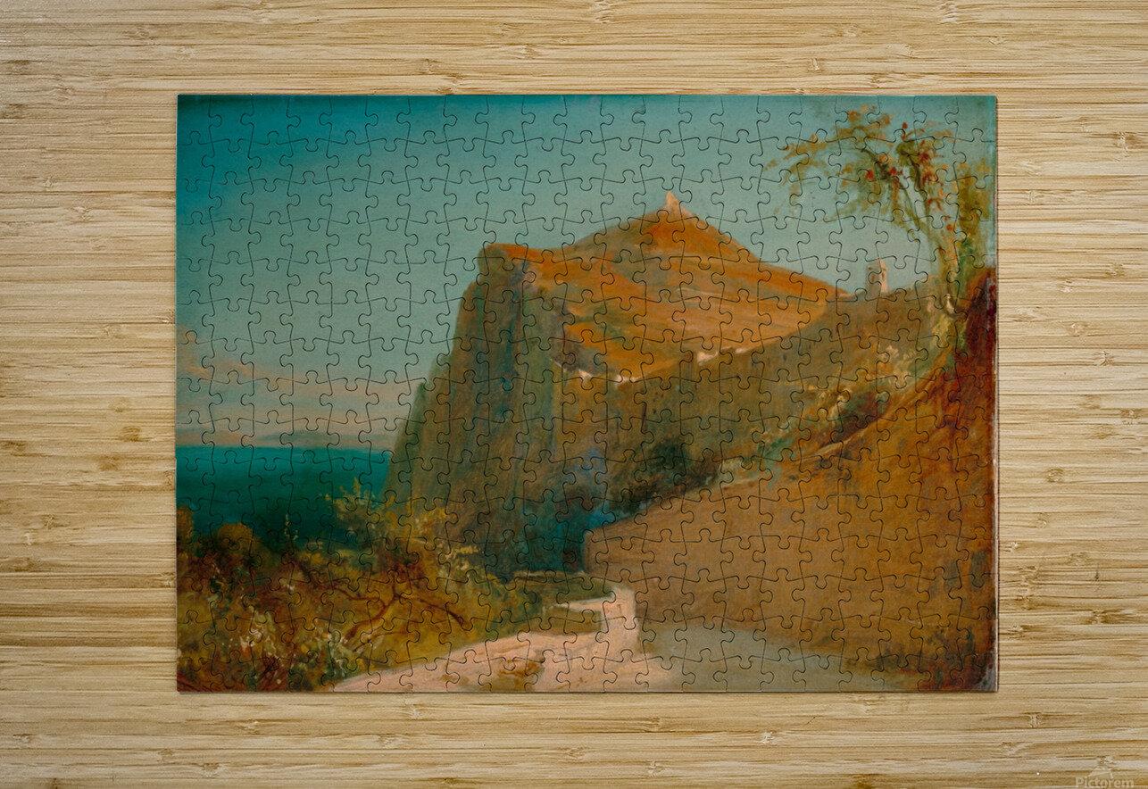 Tiberiusfelsen auf Capri  Impression métal HD avec cadre flottant sur le dos