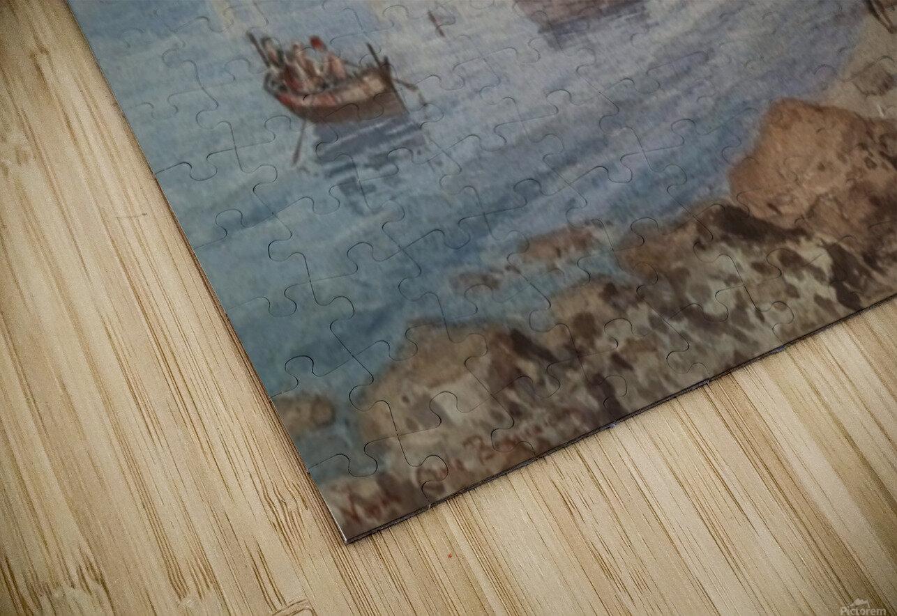 Marina di Napoli Impression de sublimation métal HD