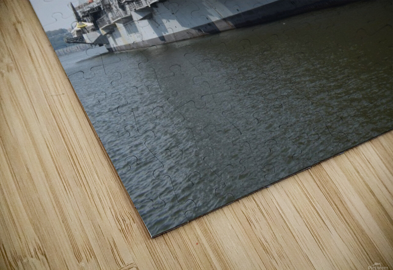 THE INTREPID, NEW YORK HD Sublimation Metal print