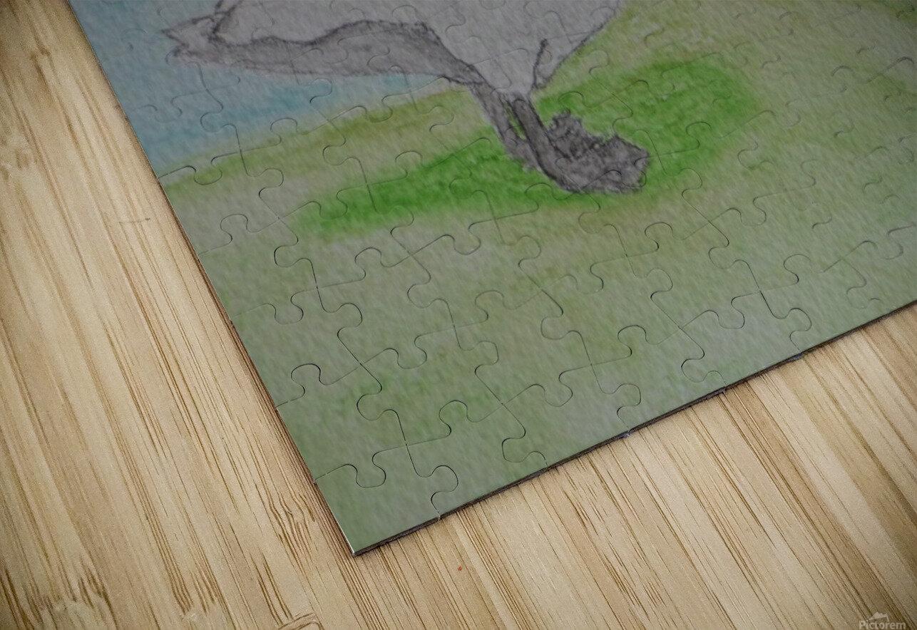 Swan  HD Sublimation Metal print