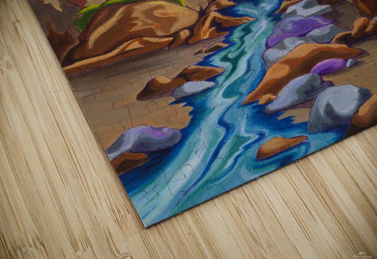 Haida Totem HD Sublimation Metal print
