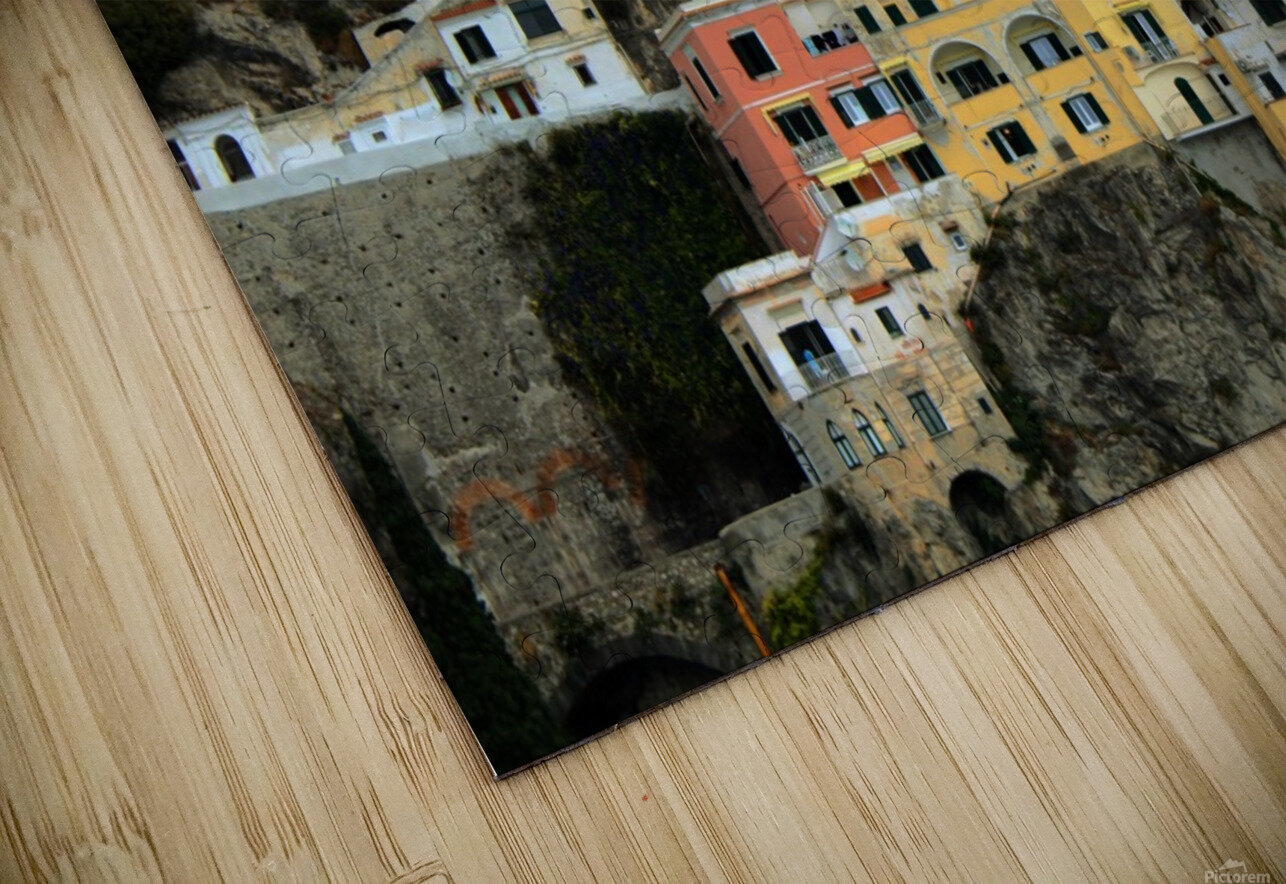 Amalfi  Old Town - Italy HD Sublimation Metal print