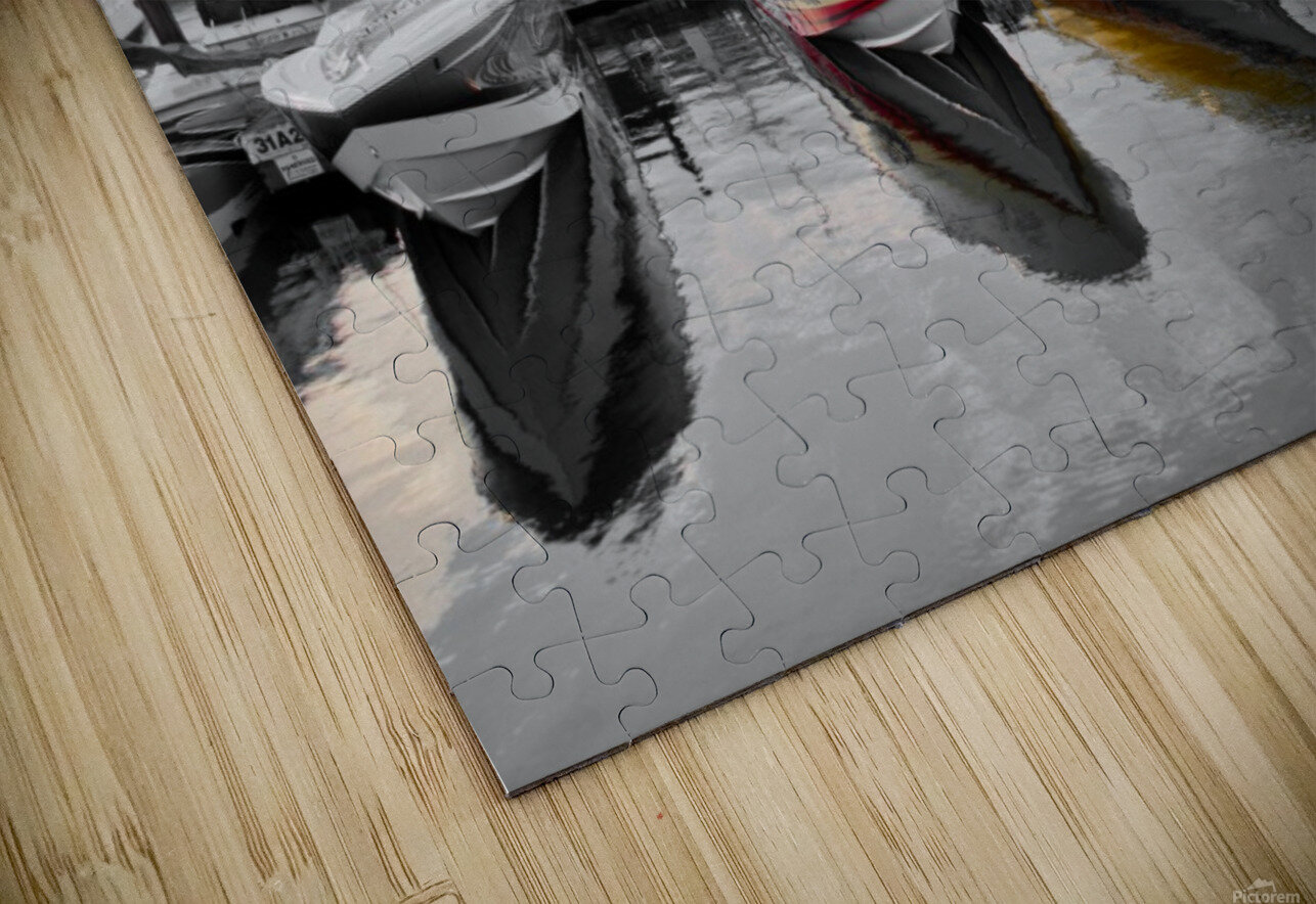 Cigarette Boats HD Sublimation Metal print