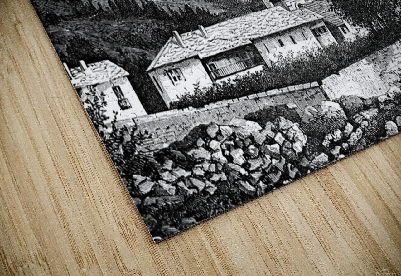 Bardonecchia View_OSG HD Sublimation Metal print