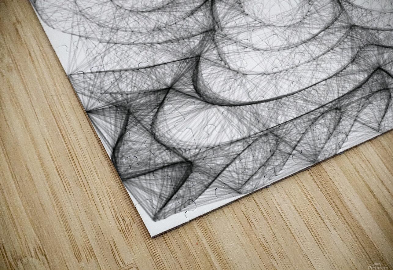 Circled in infiniti HD Sublimation Metal print