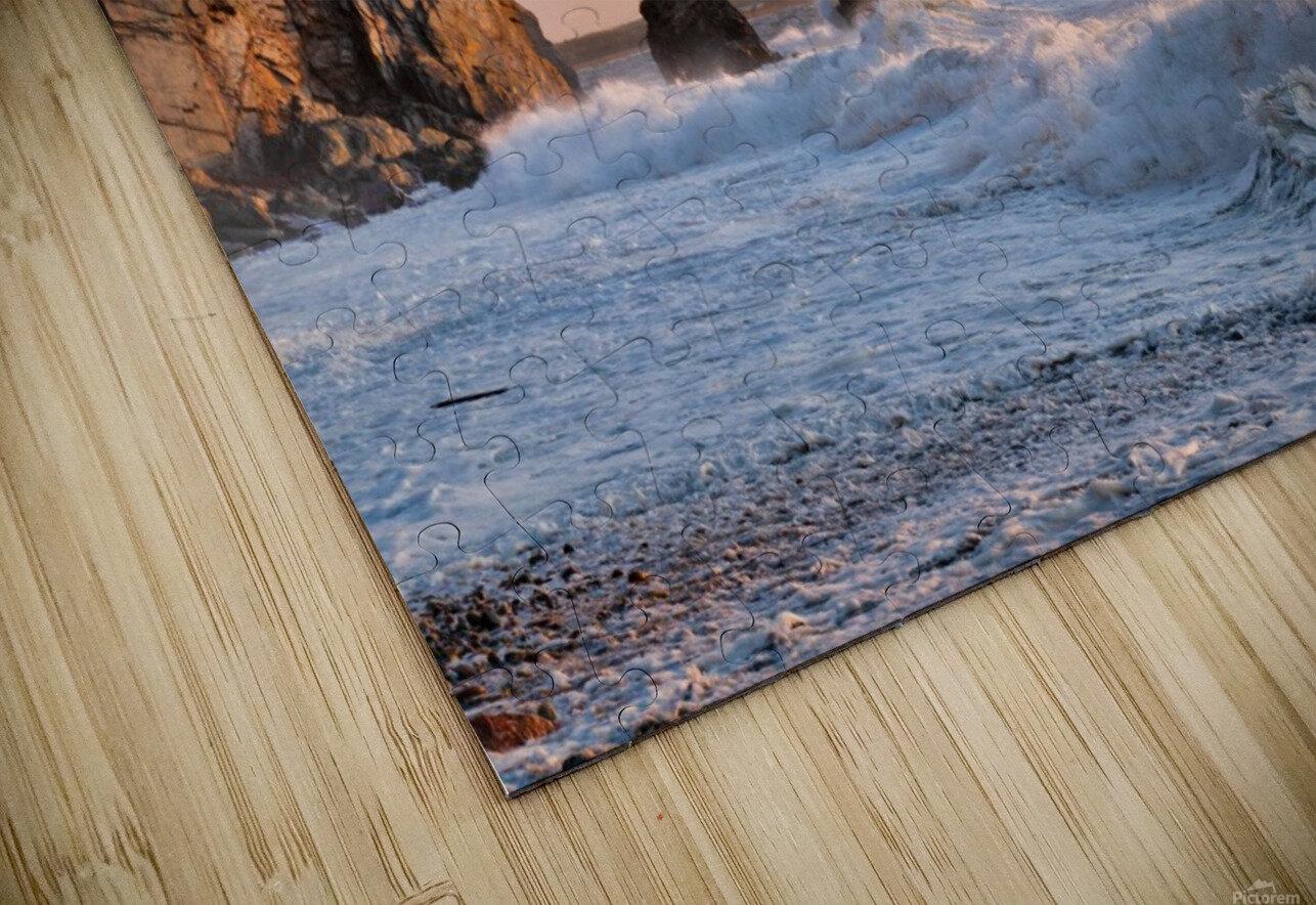 Tangerine Skies HD Sublimation Metal print