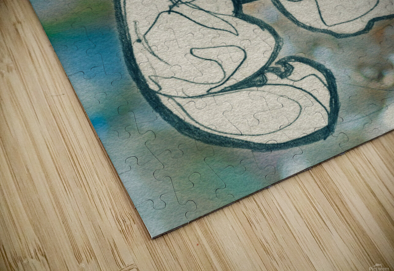 Chevelure 4 HD Sublimation Metal print