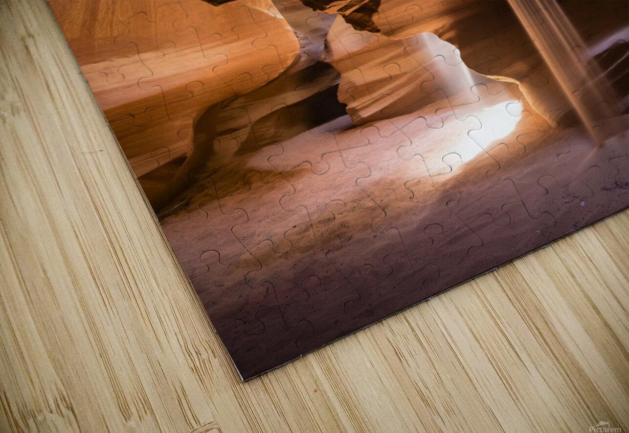 Sand Fall HD Sublimation Metal print