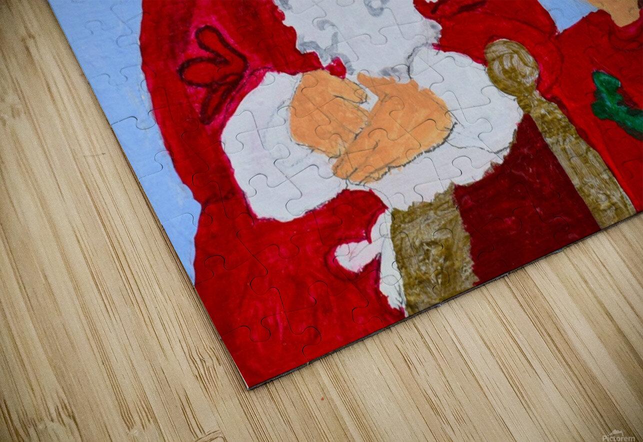 Christmas Eve. David K HD Sublimation Metal print
