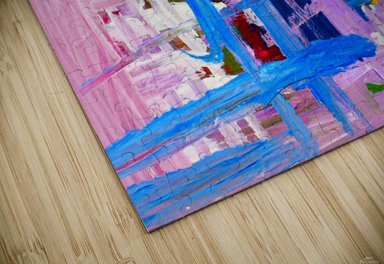 Blue Cascade. Katie J HD Sublimation Metal print
