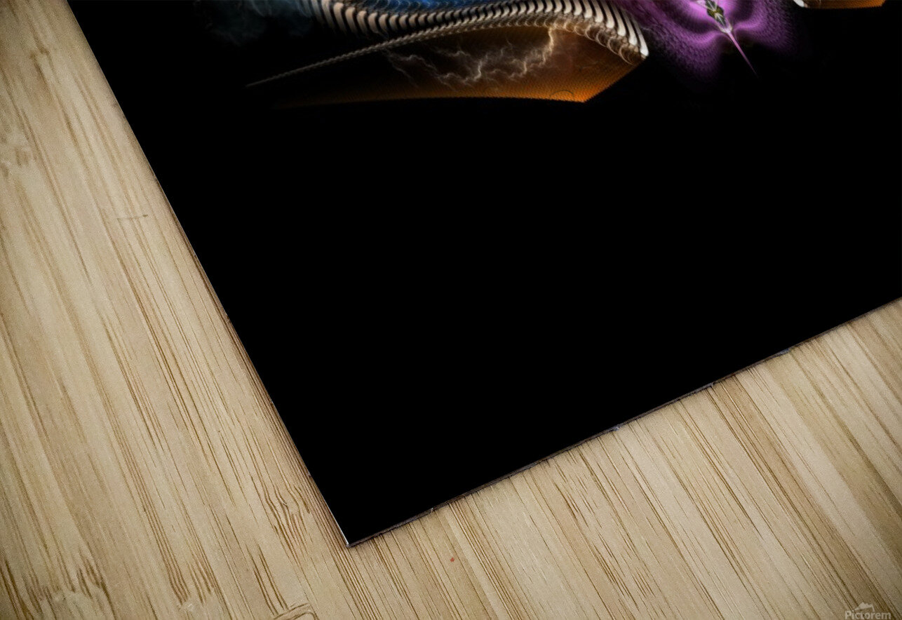 Treasure Of Night Fractal Art HD Sublimation Metal print