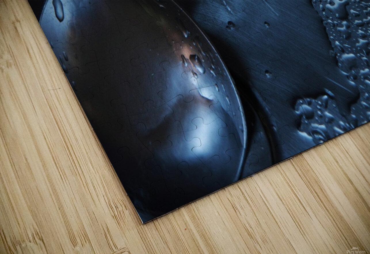 Dripping spoon HD Sublimation Metal print