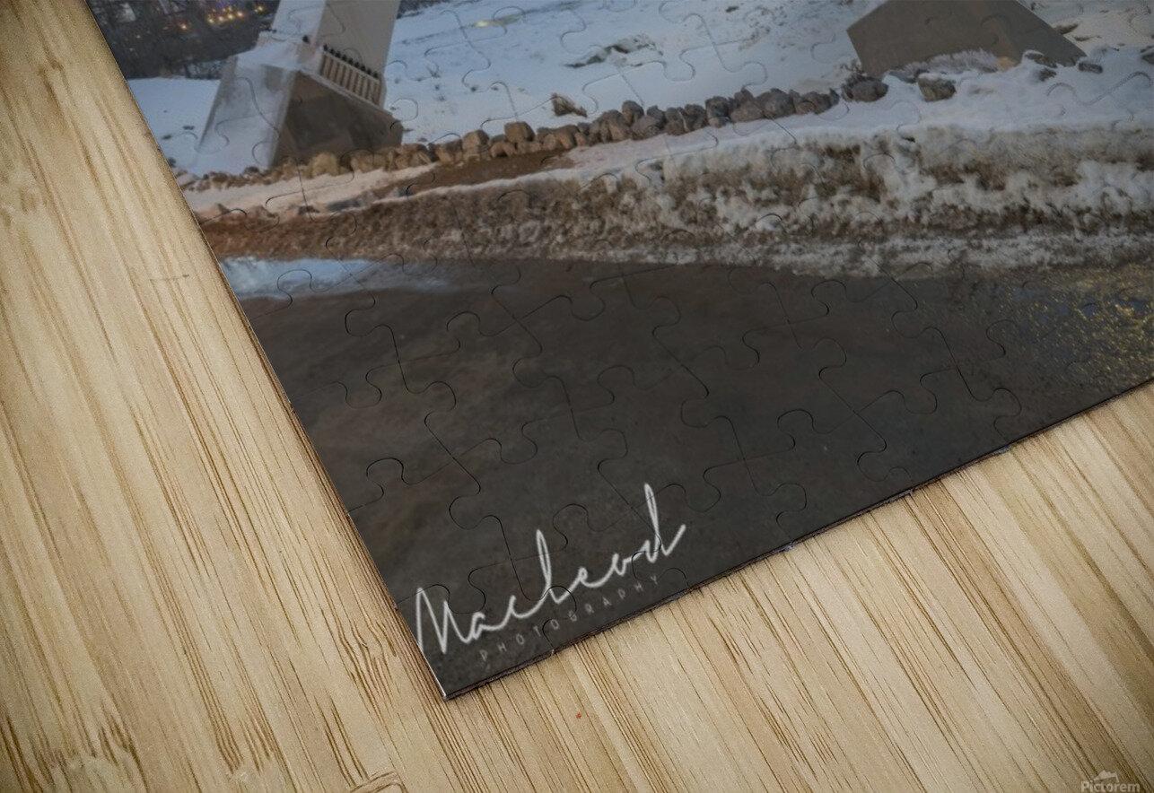 Walterdale_Bridge_NIK9885 HD Sublimation Metal print