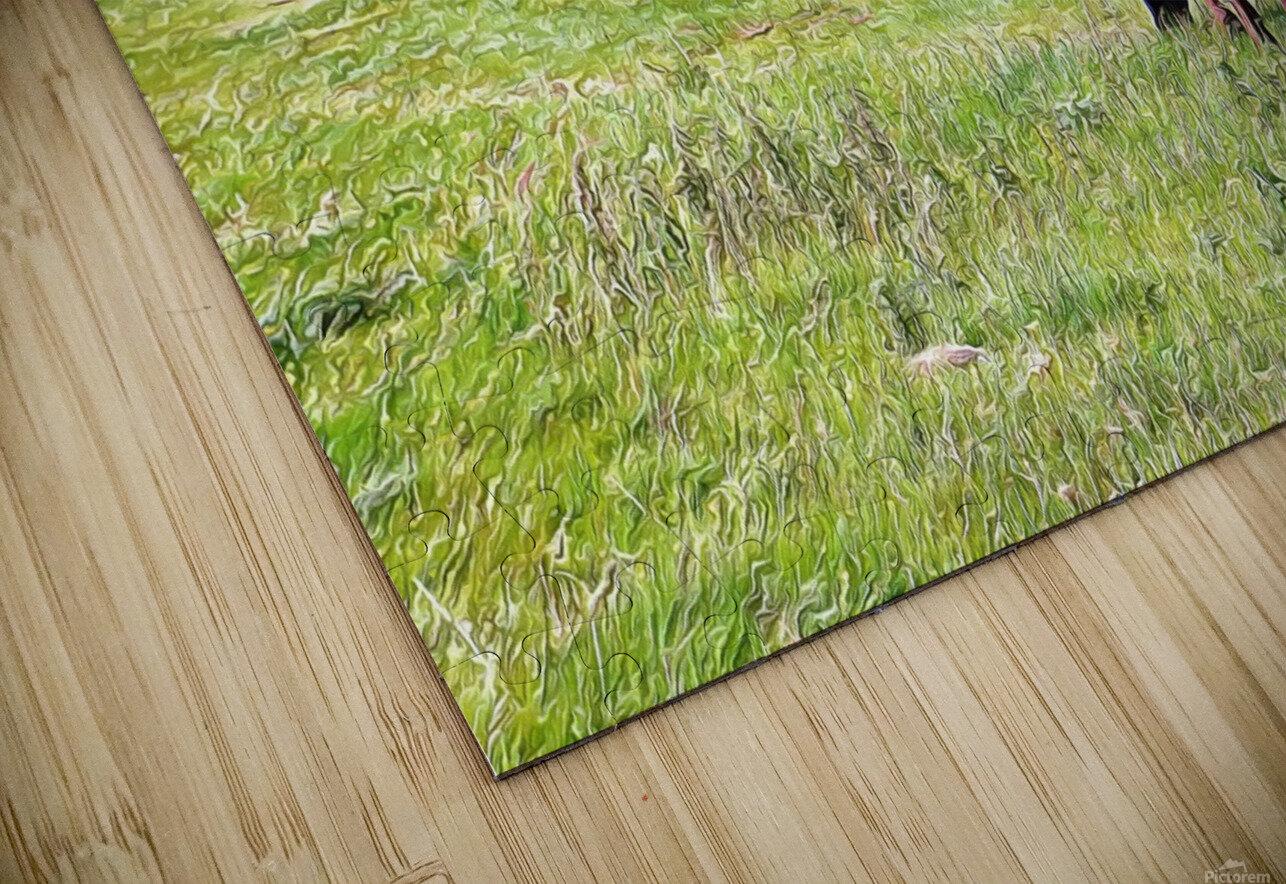 The Long Walk Home HD Sublimation Metal print