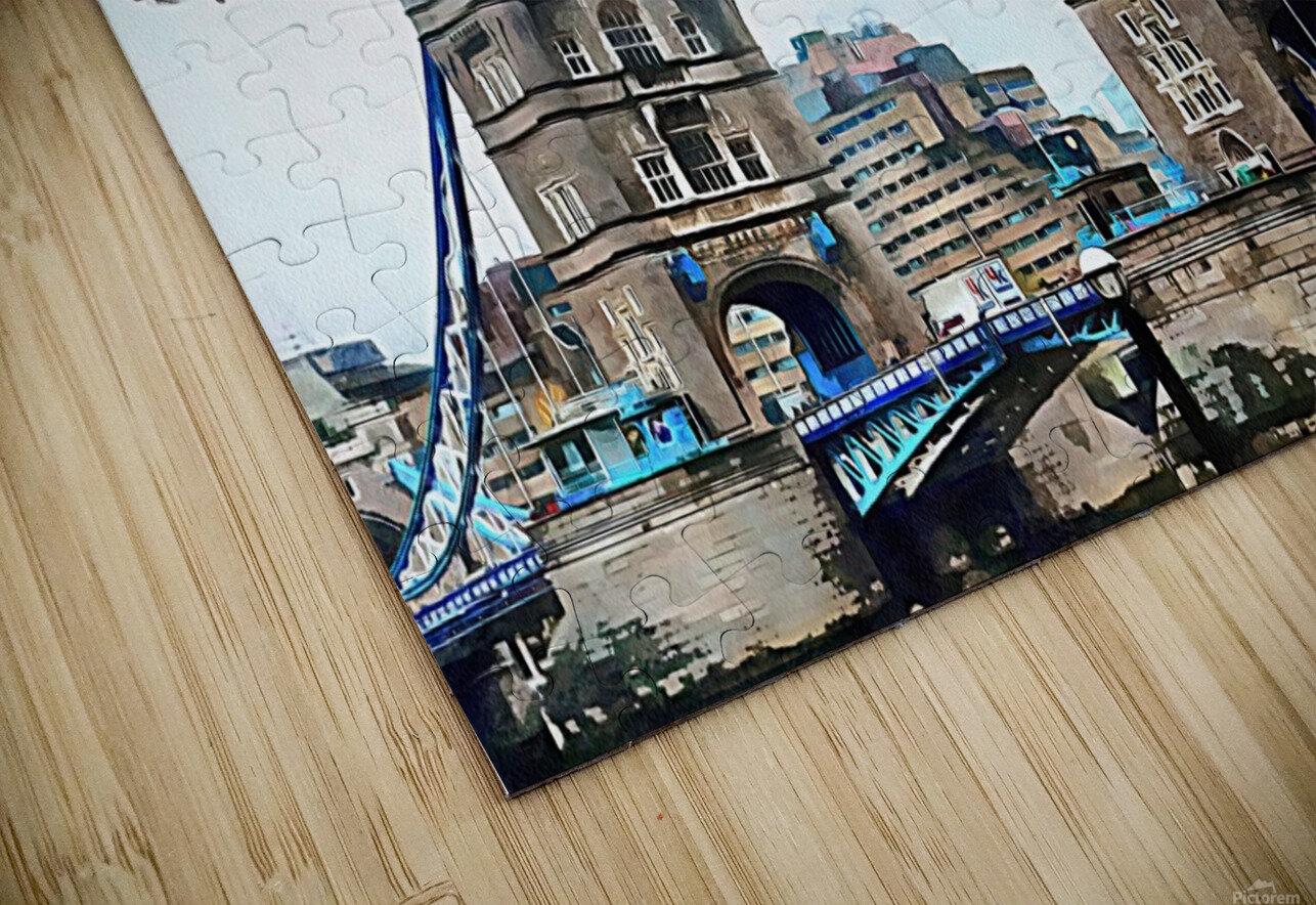 Tower Bridge London HD Sublimation Metal print