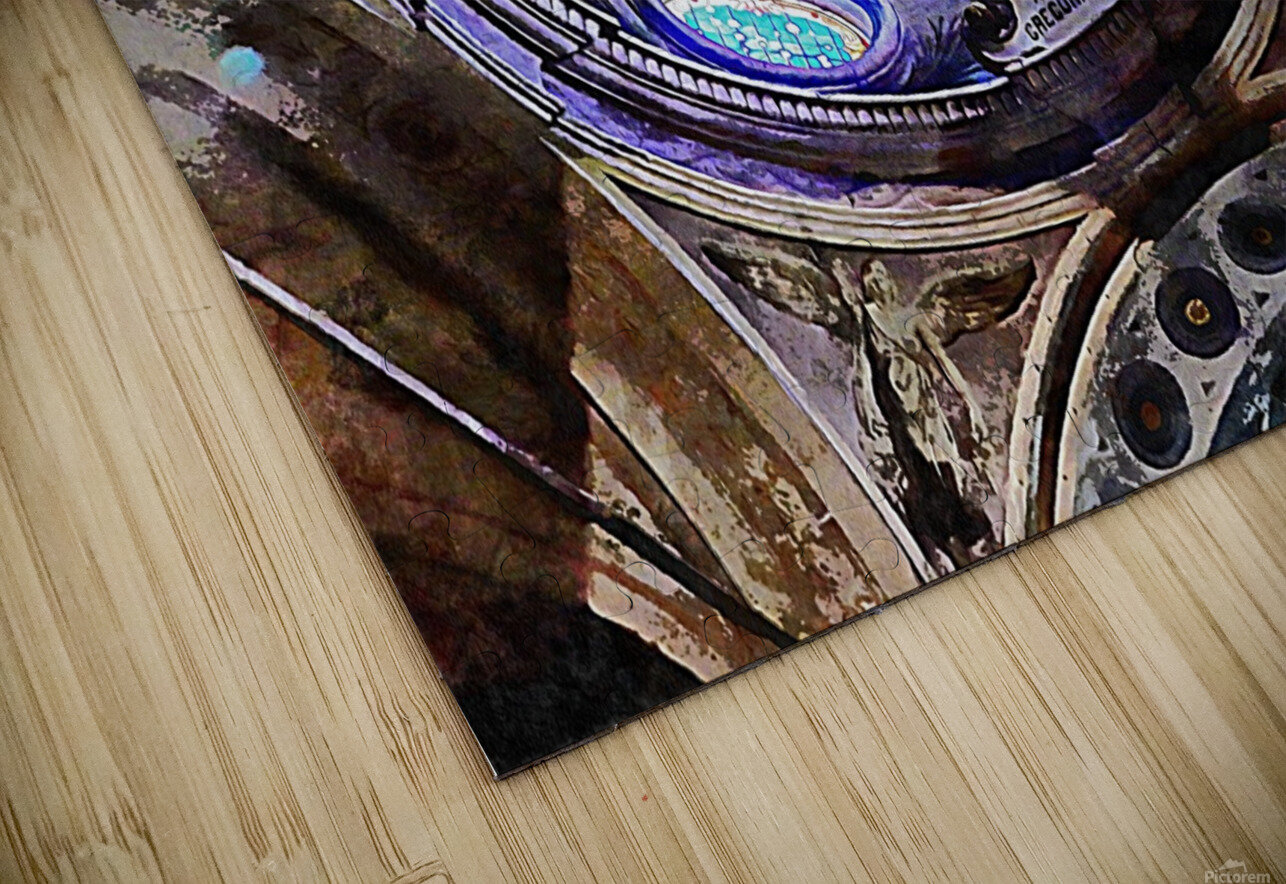 Altare Gregorianum HD Sublimation Metal print