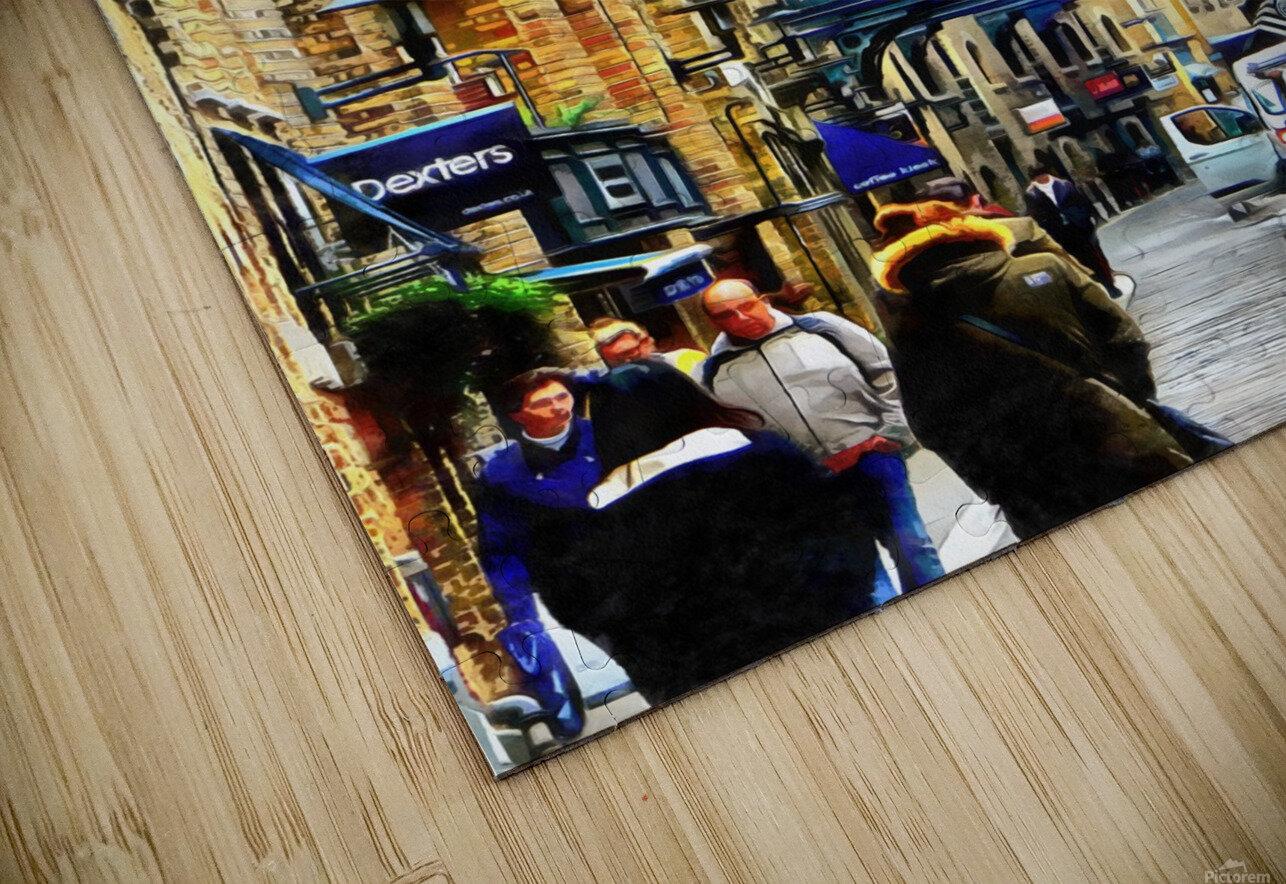 Shad Thames Street View HD Sublimation Metal print