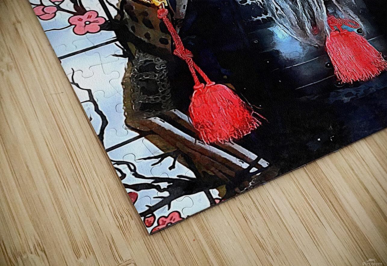 Memories of Samurai 7 HD Sublimation Metal print