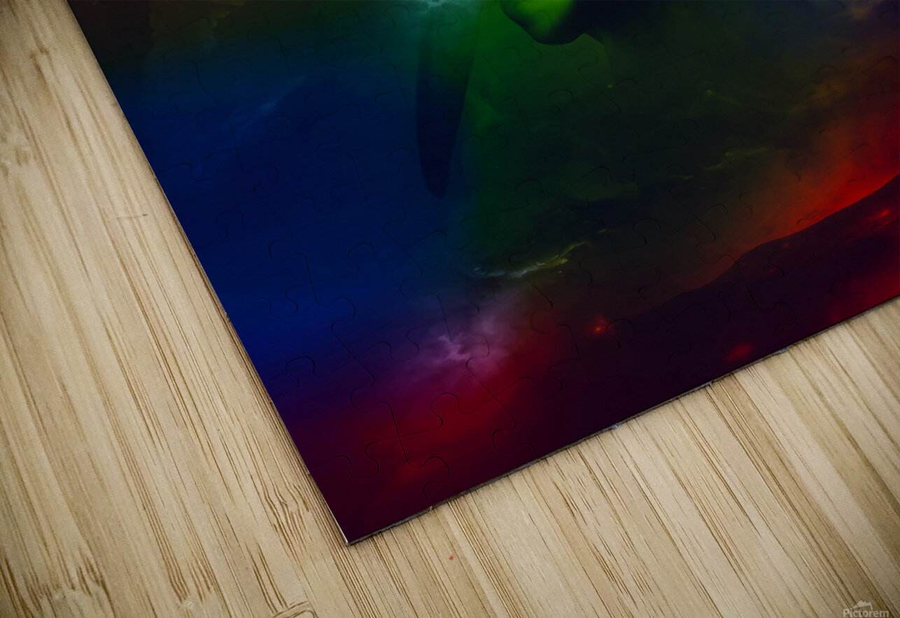 The End HD Sublimation Metal print