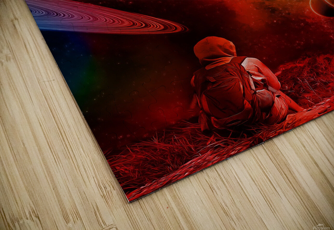 Waiting For You HD Sublimation Metal print