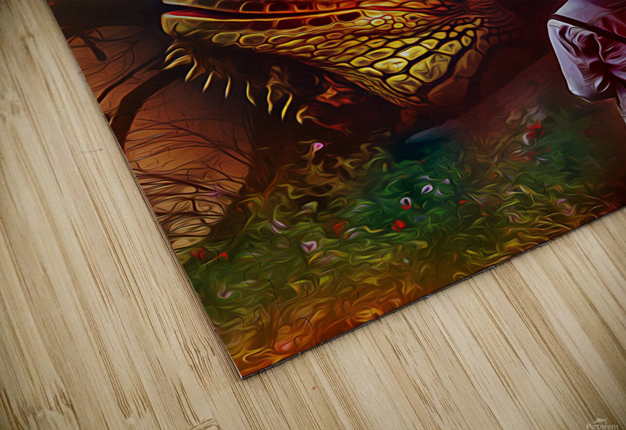 Keeper of the Tree HD Sublimation Metal print