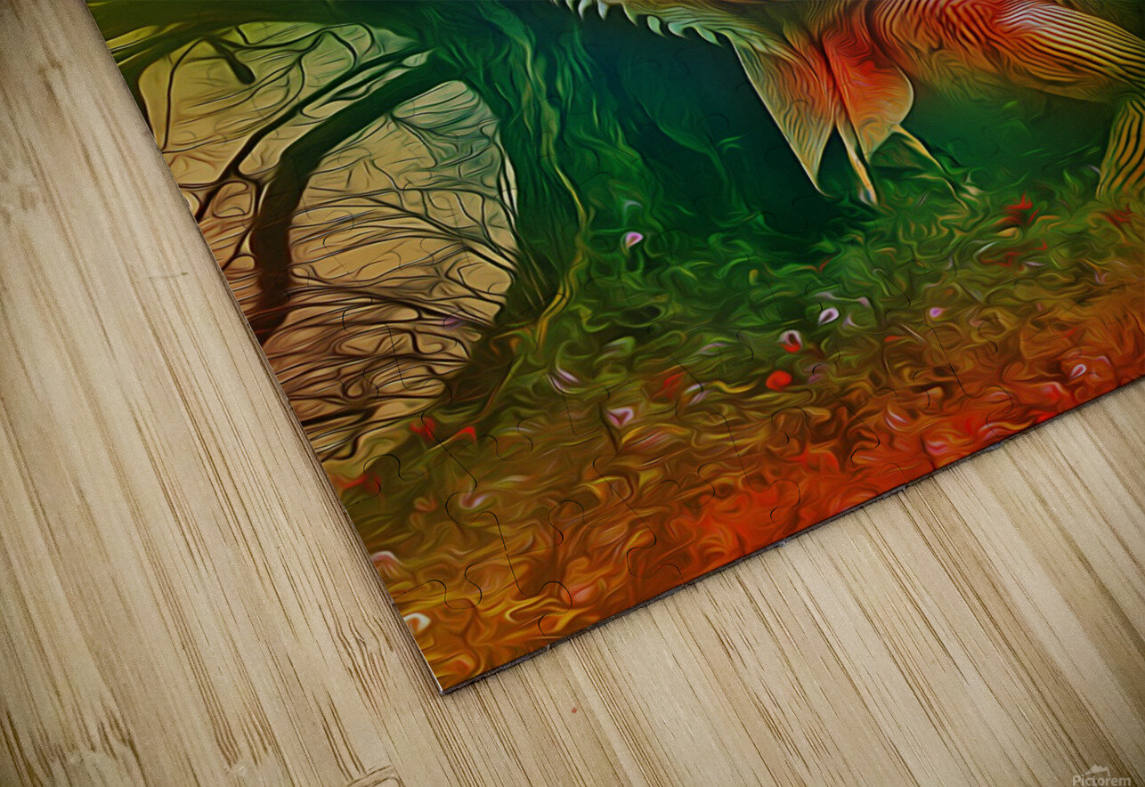 Keeper of the Tree 2 HD Sublimation Metal print