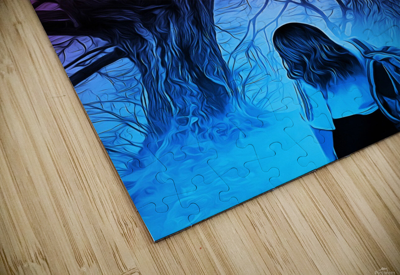 The Journey HD Sublimation Metal print