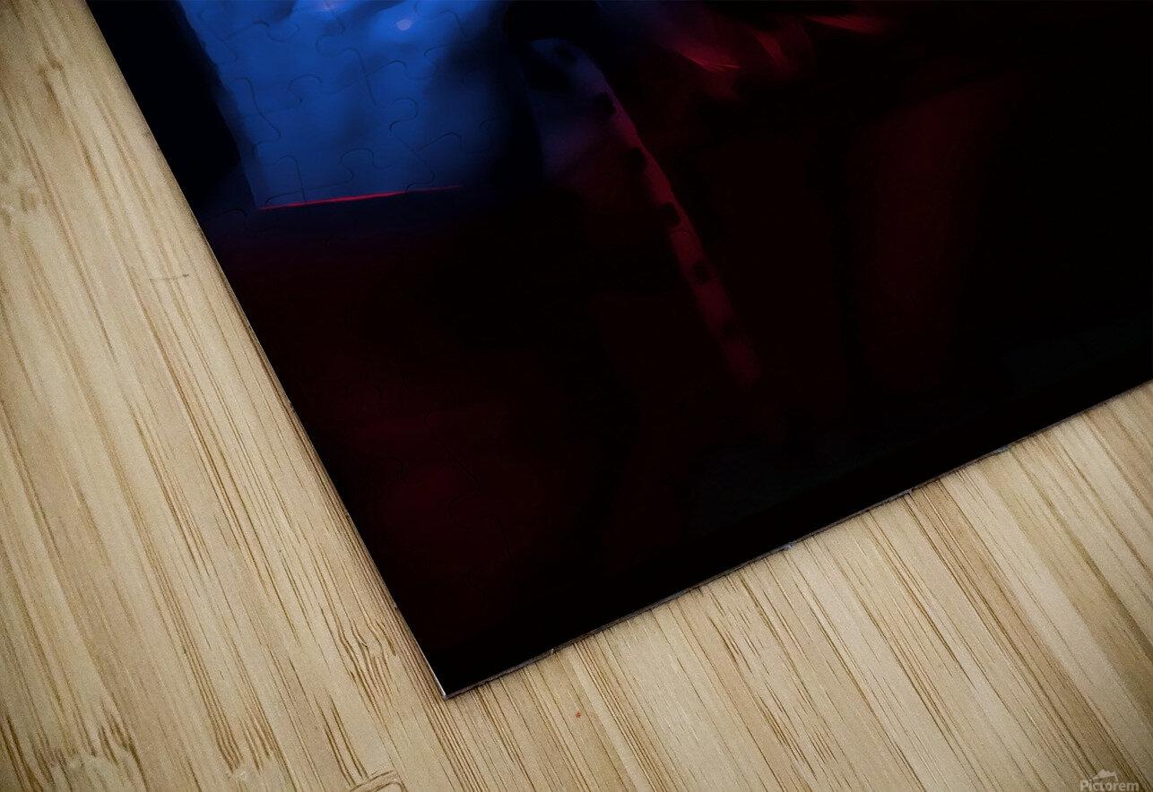 Blue Indigo HD Sublimation Metal print