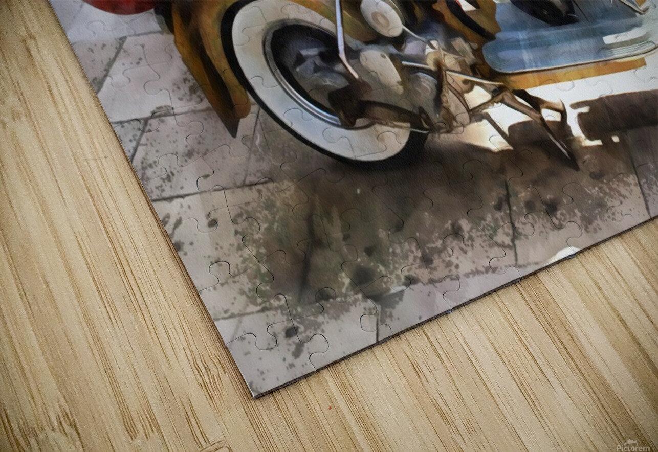 Make Mine a Lambretta HD Sublimation Metal print