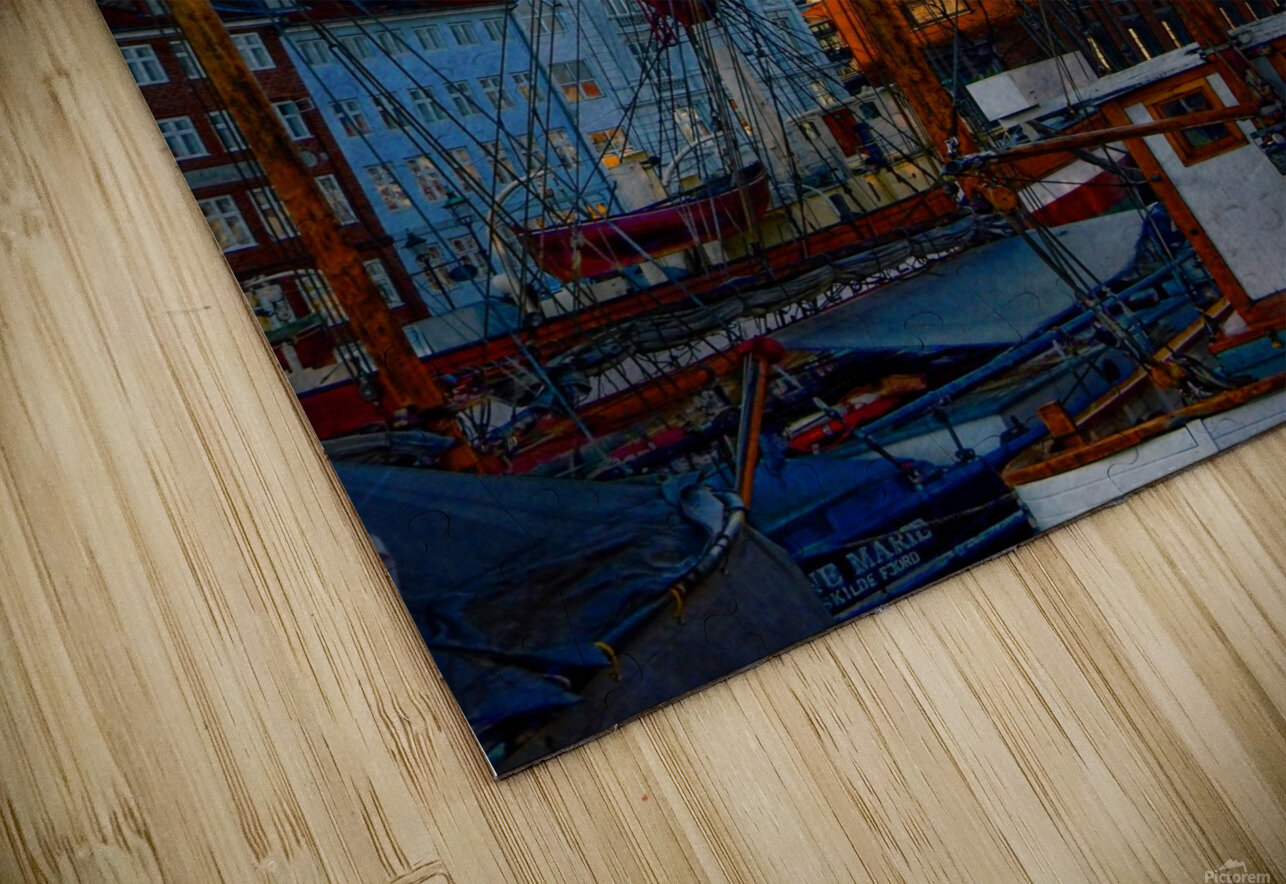 A Study in Masts HD Sublimation Metal print