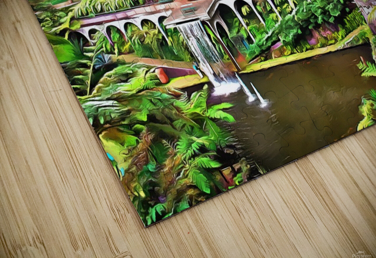 Jardim Tropical Monte Palace 5 HD Sublimation Metal print
