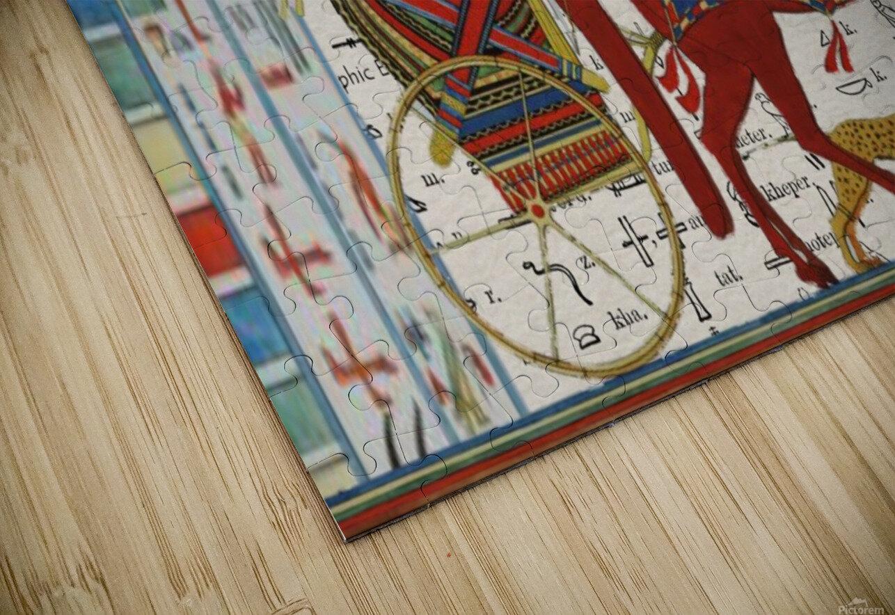 egyptian tutunkhamun pharaoh design  HD Sublimation Metal print