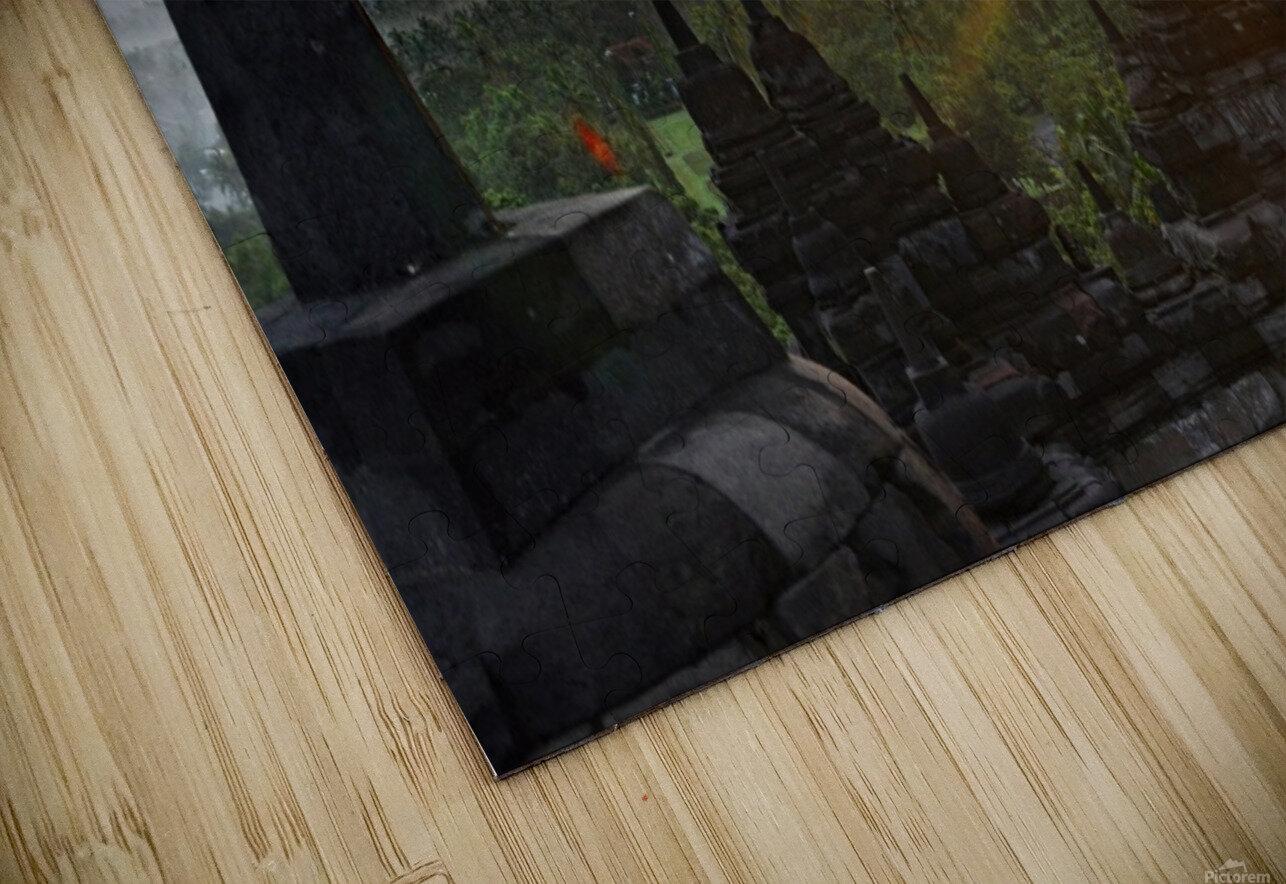 indonesia java landscape borobudur HD Sublimation Metal print