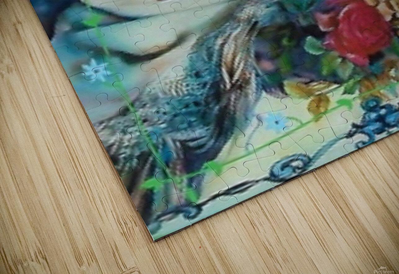 . Ybor City Rose  HD Sublimation Metal print