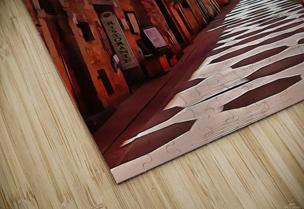 Festa Umbrellas Paciano With Shadows HD Sublimation Metal print