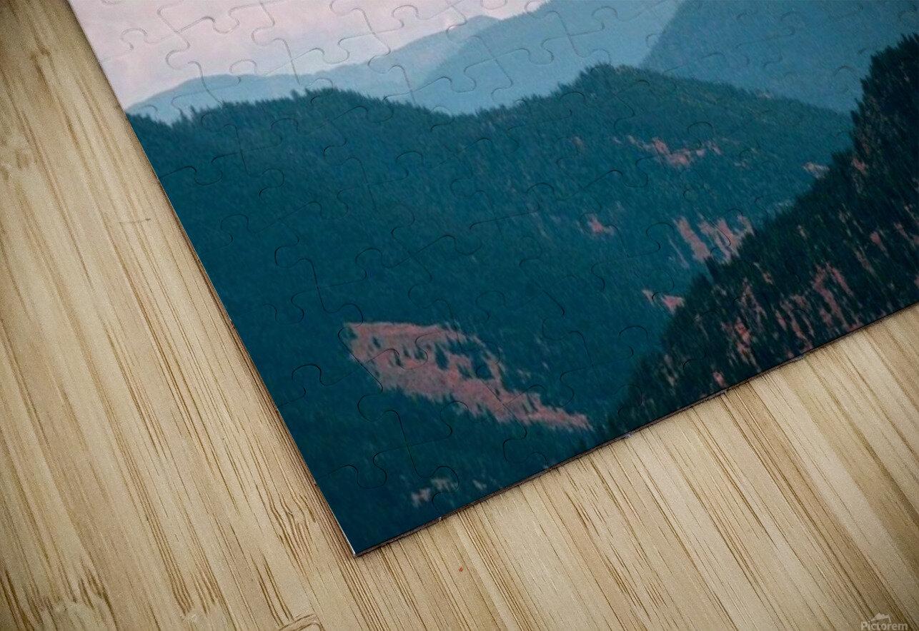 Rolling Hills HD Sublimation Metal print
