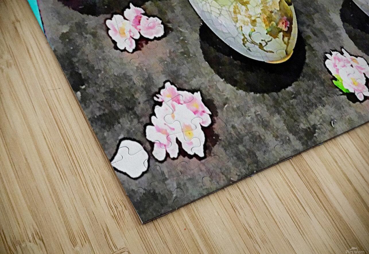 Japanese Vase Display HD Sublimation Metal print