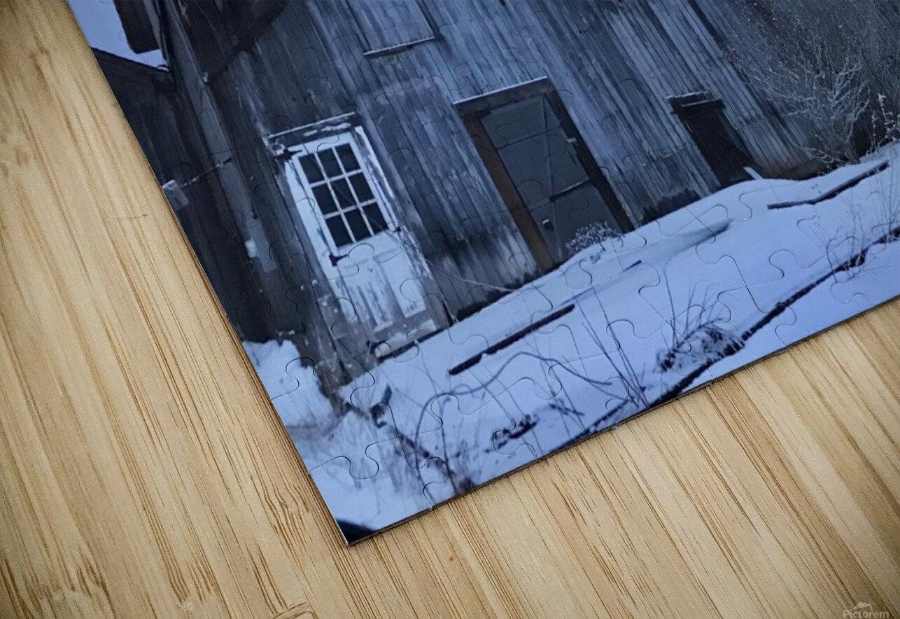 Avon Barn HD Sublimation Metal print