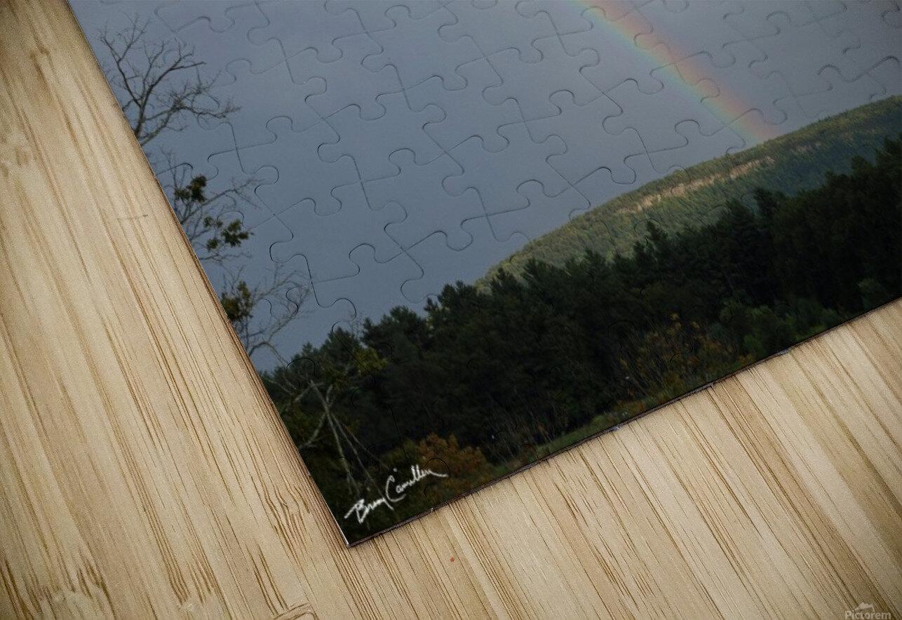 Rainbow Ridge HD Sublimation Metal print