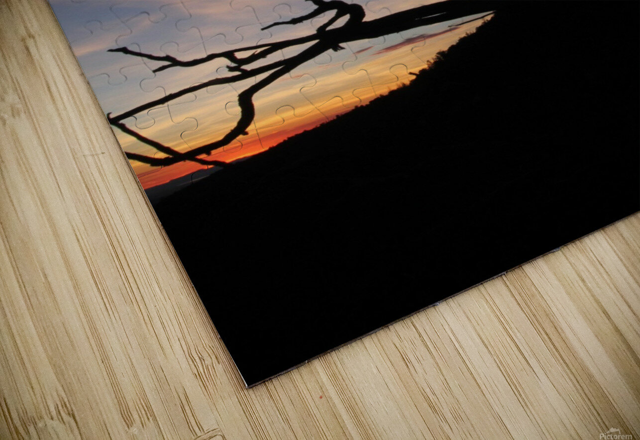 New Mexico Sunrise HD Sublimation Metal print